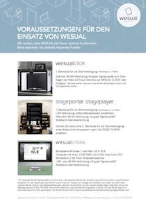 download wesual Systemvoraussetzungen