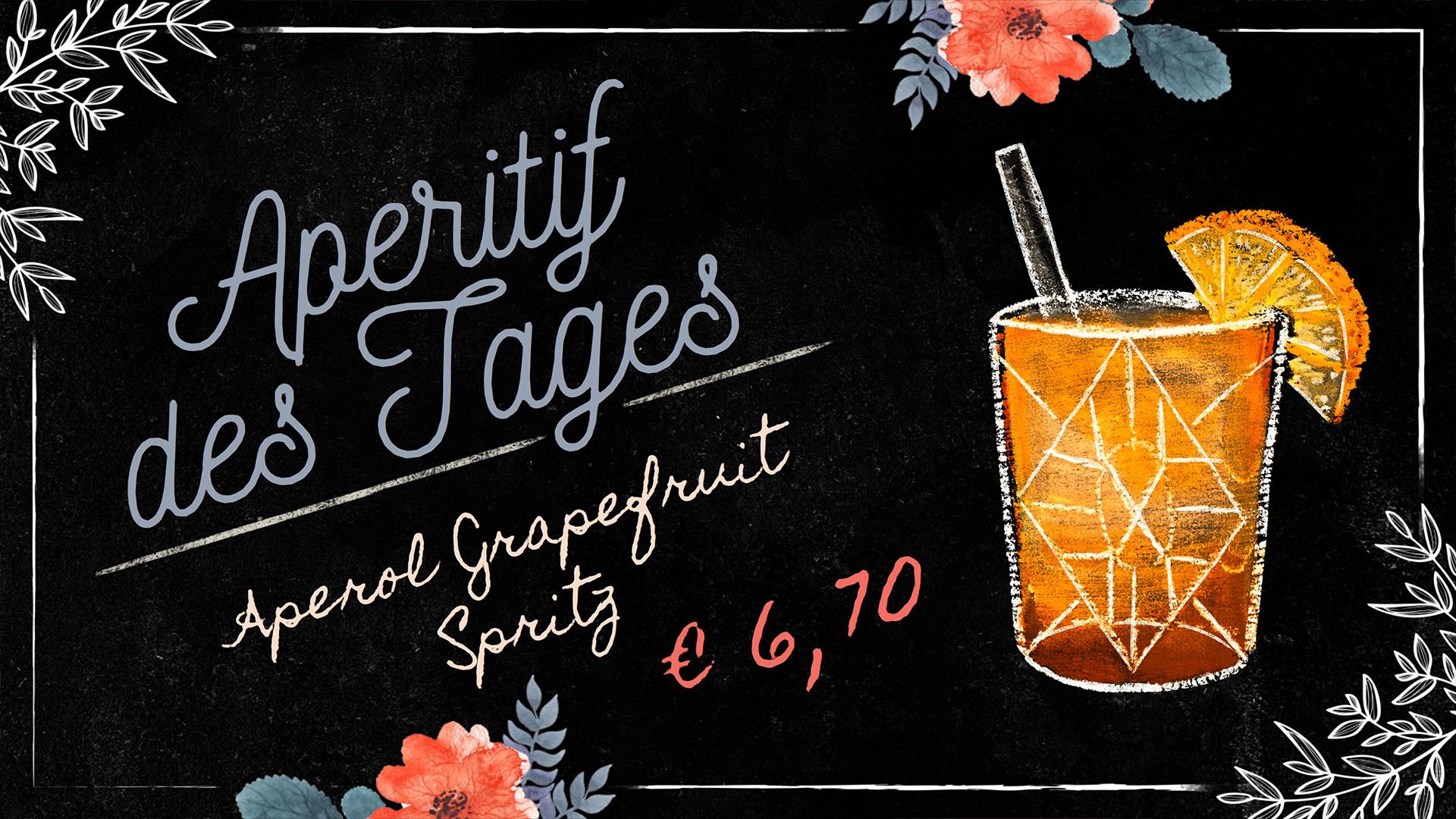 Liebevolle Illustrationen im trendigen Kreidetafel-Look präsentieren Ihre Angebote stilecht