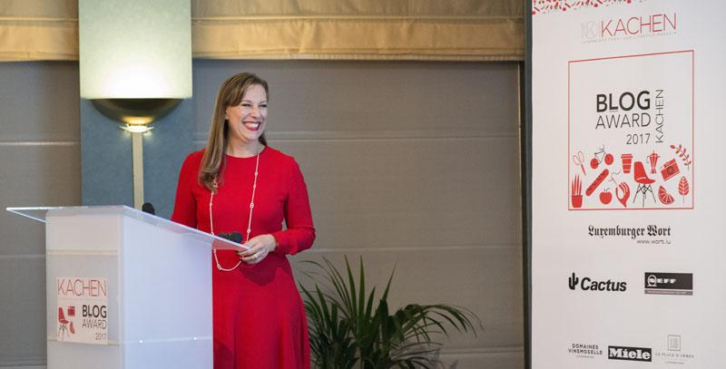 KACHEN Blog Awards Gala: Veranstalterin Bibi Winterdorf, Copyright ©Ramunas Astrauskas copy