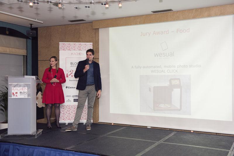 Preisverleihung Jury Award für die Kategorie Food, Copyright ©Ramunas Astrauskas