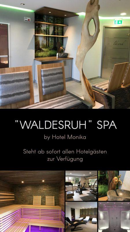 perfekte Bewerbung Hotel-Spa mit digitalen Display im Restaurantbereich
