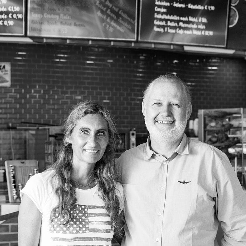 Maria und Martin Rainer, Inhaber Marias Diner